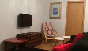 Remodelação - Sala de estar: Sala de estar  por Inês Florindo Lopes