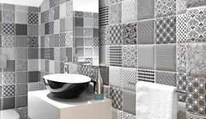 Contemporary Guest Toilet :   by Deborah Garth Interior Design International (Pty)Ltd,