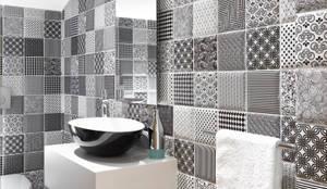 Contemporary Guest Toilet :   by Deborah Garth Interior Design International (Pty)Ltd