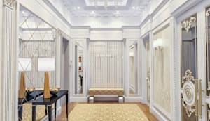 Entrance hall - Interior design:   by DMR DESIGN AND BUILD SDN. BHD.,