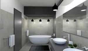 "New Bathroom: {:asian=>""asian"", :classic=>""classic"", :colonial=>""colonial"", :country=>""country"", :eclectic=>""eclectic"", :industrial=>""industrial"", :mediterranean=>""mediterranean"", :minimalist=>""minimalist"", :modern=>""modern"", :rustic=>""rustic"", :scandinavian=>""scandinavian"", :tropical=>""tropical""}  by A4AC Architects,"