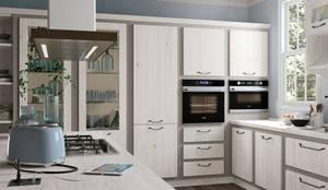 Novo modelo Rebecca-Cucine Lube: Cozinha  por area design interiores - cozinhas em Braga