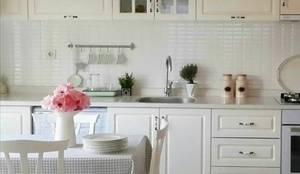 Feza Mutfak – Küçük mutfak dekorasyonu fikirleri:  tarz Ev İçi