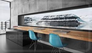 Wandpaneele in Betonoptik:  Wände & Boden von Loft Design System Deutschland