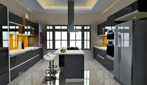Island Moduler Kitchen...:   by Archspace Interio