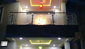 Mr Ravi Kumar PVR Meadows 3BHK Villa:  Interior landscaping by Enrich Interiors & Decors