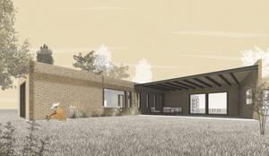 Render 1:  de estilo  por D01 arquitectura