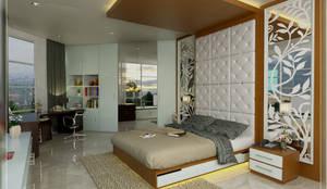 BEDROOM 01 ALT2:   by Arsitekpedia