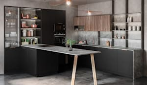 Tmatt Nero: Cocina de estilo  de TPC Cocinas