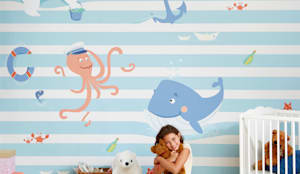 Walls & flooring by Baby Interior Design