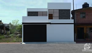 Propuesta de fachada.:  de estilo  por Creer y Crear. Arquitectura/Diseño/Construcción