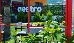 SKY İç Mimarlık & Mimarlık Tasarım Stüdyosu – MAESTRO COFFEE TASARIMI:  tarz İç Dekorasyon