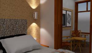 Diseño Interior - Hospedaje:  de estilo  por DIS.OLIVER QUIJANO