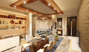 Interior designs made for luxury living:   by Articulate design studio
