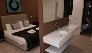 Reconstrucción dormitorio: Dormitorios de estilo  de GrupoSpacio