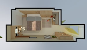 Denah layout 3D:   by Internodec