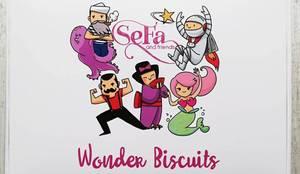 Wonder Biscuits: Cucina in stile  di SeFa Design by nature