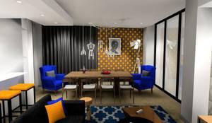 living room :  Living room by AB DESIGN