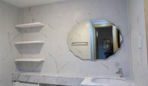 삼성서초가든스위트 욕실 리모델링: 그리다집의