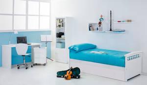 Habitación Nido infantil Estrellas: Habitaciones infantiles de estilo  de bainba.com Mobiliario infantil-Juvenil