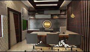 office interior:   by divine architects