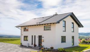 Willkommen zu Hause:  Garten von FingerHaus GmbH - Bauunternehmen in Frankenberg (Eder)