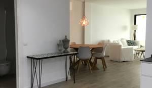 Apartamento unifamiliar reformado y decorado:  de estilo  de NSG interior Design & Projects, reformas y decoración en Mallorca