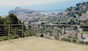 Diseño 3D terraza :  de estilo  de Glancing Eye - Diseños 3D