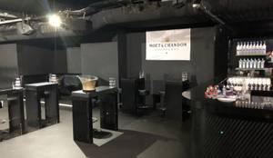 Club Interior - Vorher Dom Pérignon Lounge :   von Kaldma Interiors - Interior Design aus Karlsruhe