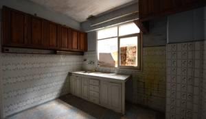 Orby İnşaat Mimarlık – Eski hali : Mutfak:  tarz