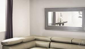 Espejo Minimal : Hogar de estilo  por Muebles Dico