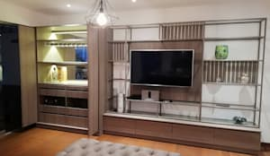 Sala: Salas/Recibidores de estilo  por Alicia Ibáñez Interior Design