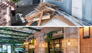 Antes y Después:  de estilo  de Loema Reformas Integrales Madrid