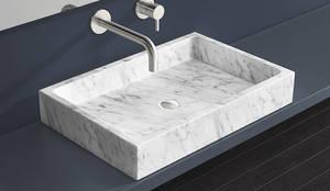 Marmor Waschbecken MWB-01-M:  Badezimmer von Badeloft GmbH - Hersteller von Badewannen und Waschbecken in Berlin
