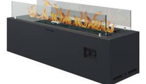 Mehr als eine einfache Feuerstelle - mobiler Gaskamin für draußen :  Garten von muenkel design - Elektrokamine aus Großentaft