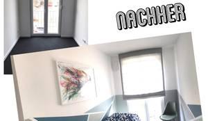 Gästezimmer Vorher / Nachher Bilder:   von KHG Raumdesign - Innenarchitektin in Berlin