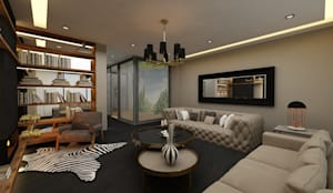 PRATIKIZ MIMARLIK/ ARCHITECTURE – Salon:  tarz Oturma Odası,