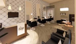 Salão de Beleza:   por Fark Arquitetura e Design,