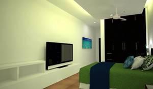 Habitación Jr:  de estilo  por RL Arquitecto,
