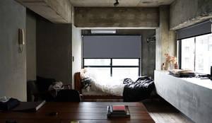除了美感外,還多了一份機能的夢想家居 |Motorized 電動窗簾.窗簾推薦:  窗戶與門 by MSBT 幔室布緹,