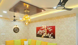 Living Room: modern  by Homagica Services Private Limited,Modern
