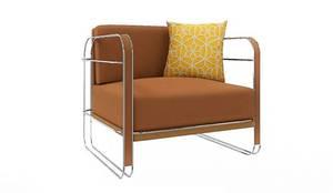 Lidia ArmChair: Soggiorno in stile  di WAU Italian Design,