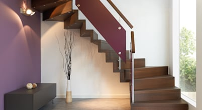 Sinus-Treppen-Design