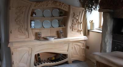 Carved Wood Design