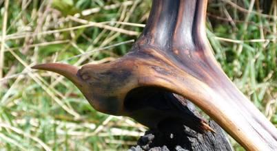 Irish Bog Wood Sculpture