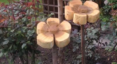 Holzwerkerin Eving
