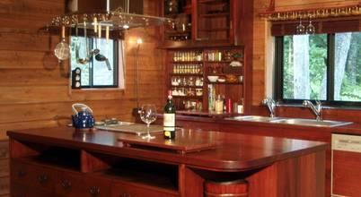 一枚板テーブルと無垢材家具・キッチンの祭り屋