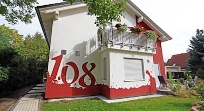 Wandgestaltung Graffiti Airbrush von Appolloart