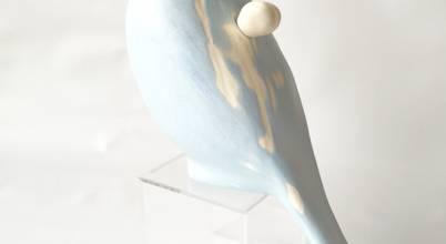陶刻家 由上恒美                                          Ceramic Sculptor  tsunemi yukami