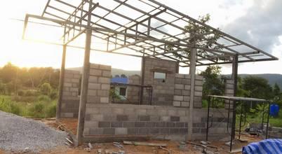 สร้างบ้านหลังใหม่1 นอน 1 น้ำ 1 ครัว กับงบ 3 แสนต้นๆ